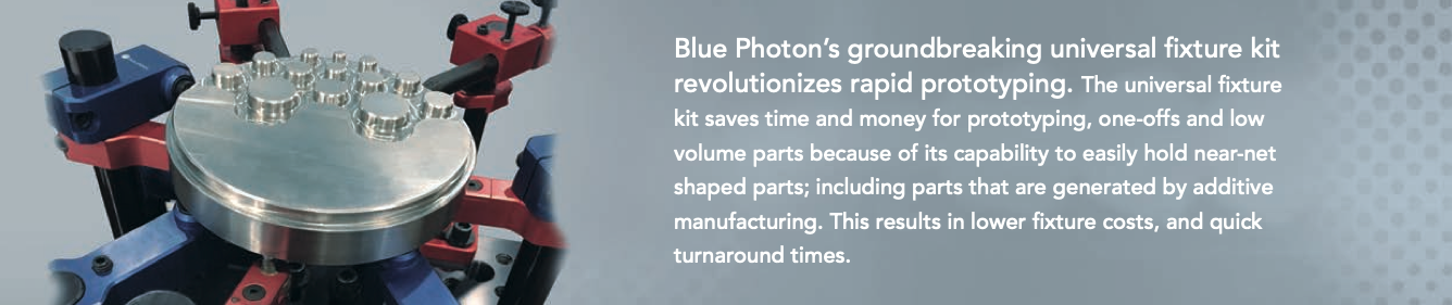 Blue Photon Workholding Universal Fixture Kit.