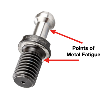 Retention Knob Metal Fatigue